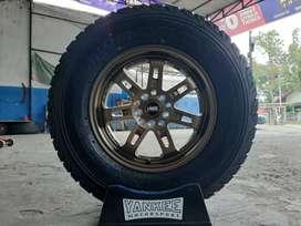 Velg Mobil + Ban 235/70 R15 A/TZ untuk rush, xtrail, innova dll