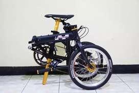 Sepeda Lipat costum