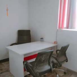 1 cabin 5workstation  Whating area24×7 security guard
