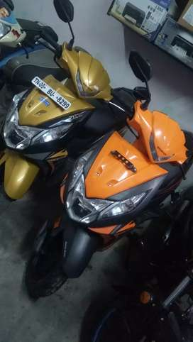 Honda Dio gray, orng, gold, FINANCE AVAILABLE
