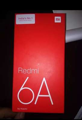Redmi 6A gold 2GB RAM 16GB storage