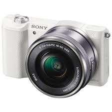 Cicil Kamera Sony Alpha ILCE a5100L / a5100 Kit 16-50mm - White