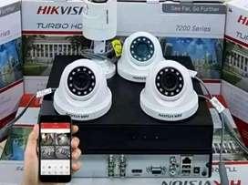 Jual paketan anak celeng kamera CCTV berikut pemasangan