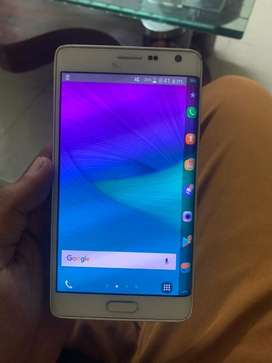 Samsung note edge top condition