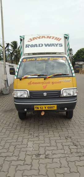 Maruthi super Carry Closed Vehicle Single Owner Owner come Driver