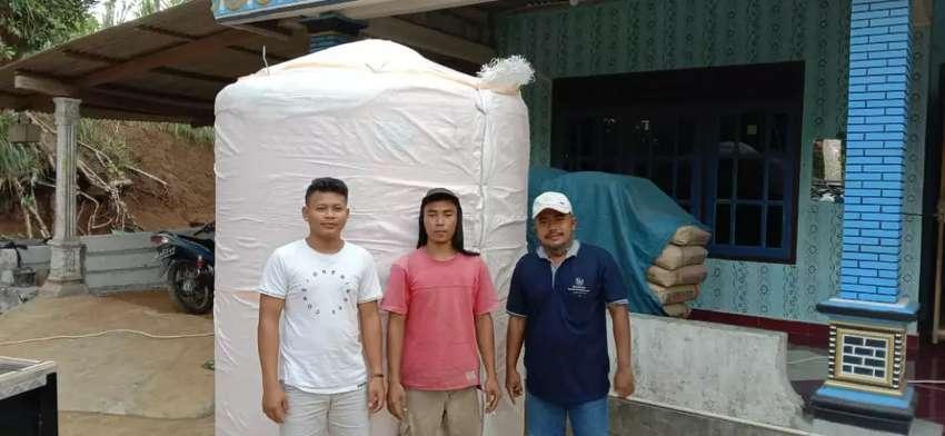 Gudang tandon air 5000 liter hdpe bahan plastik tebal