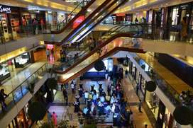 Jobs in shopping mall