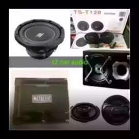 Mantul gan paket audio JBL MIX komplit pasang ada bonus led ok