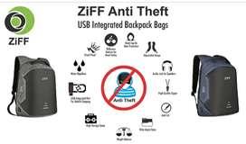 Anti theft bagpack