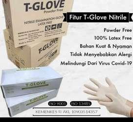 Sarung tangan / hand glove nitrile