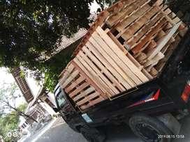 palet/pallet kayu keras..