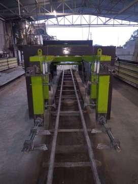 AAC Blocks manufacturing unit at Bakshi ka Talaab.