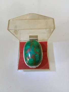 Natural Turquoise Pirus Persia Urat Emas Pirus Abdul Rozaq