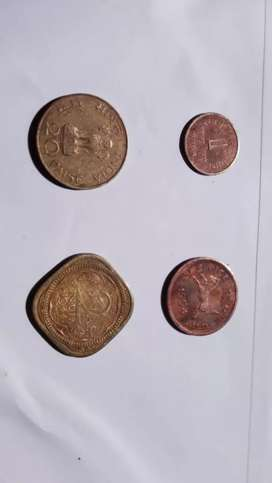 Old copper Indian coins for sale