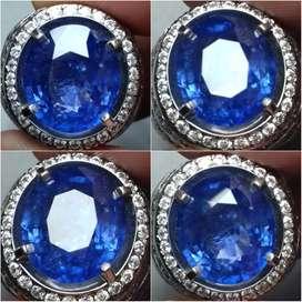 Natural Vivid Blue Sapphire 10.17ct Srilanka Big Size Jumbo