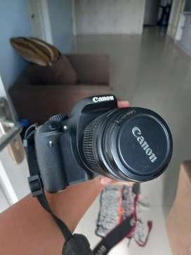 Jual kamera canon 550d kit