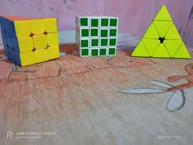 3 puzzle ( 3 by 3, 4 by 4, and a pyramid )