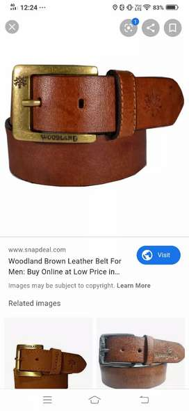 Pure leather Belts for sale only on 599