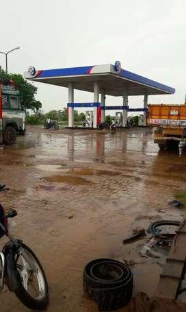 Petrol pump worker