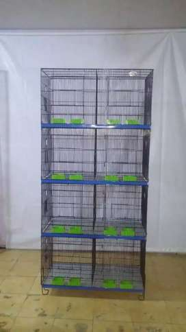 8 portion folding cages