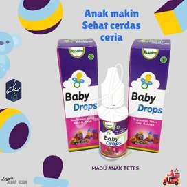 Tasnim baby drops suplemen kesehatan bayi