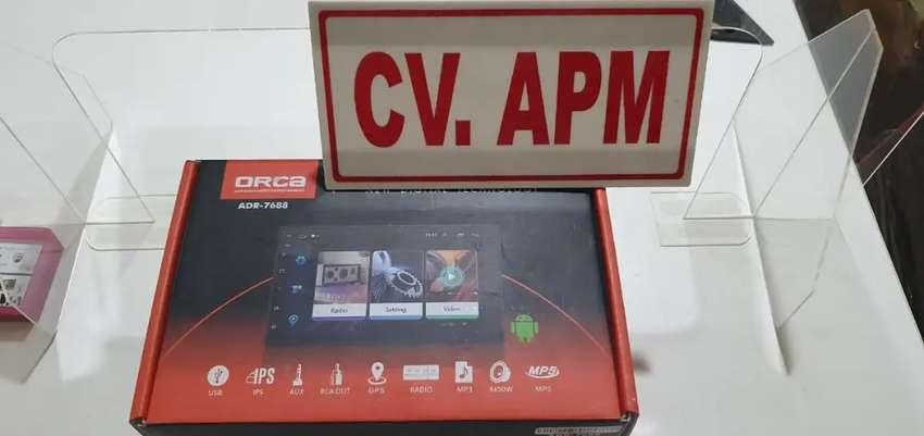 Double din android Full glass Ram 2Gb  Plus pasang di Setiabudi 0