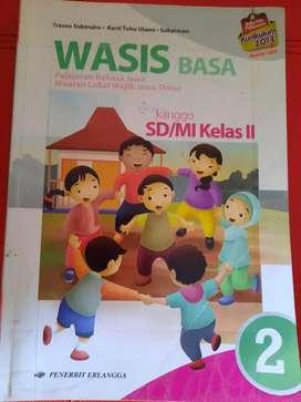 Bahasa Jawa Wasis Kelas 2 SD penerbit Erlangga