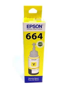 Tinta Epson 664 yellow