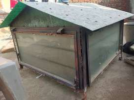 Air window for roof