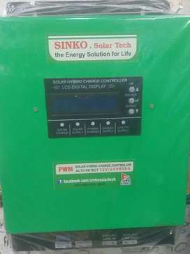 Solar Hybrid Charge Controlor Automatic  50A 12/24 V Automatic For Ups