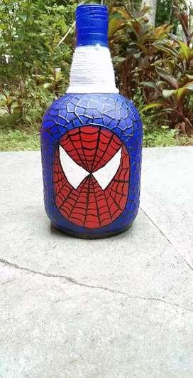 Spider man bottle