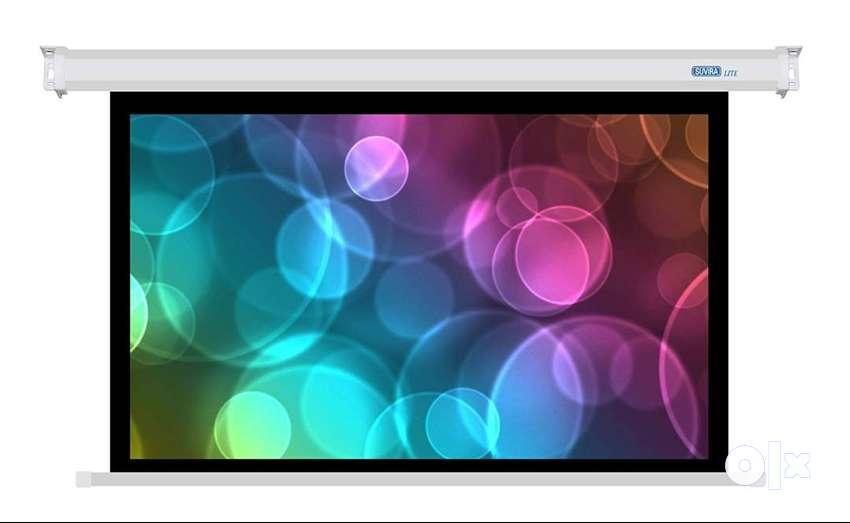 Suvira Manual Projection Screen Autolock - Matte White Fa 0