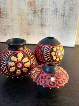 Terracota Miniature pots