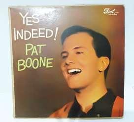 Pat Boone Yes Indeed piringan hitam