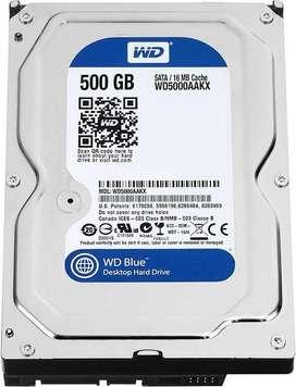 500 gb wd hard disk