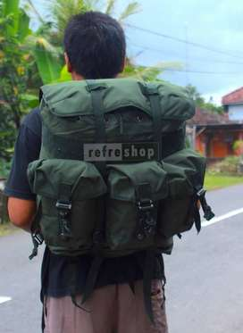 Tas Ransel Tempur RPB Hijau Standart TNI