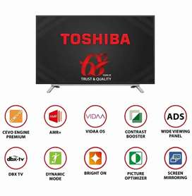 32 inch Toshiba Smart TV Brand new Seal Pack Only ₹. 13999