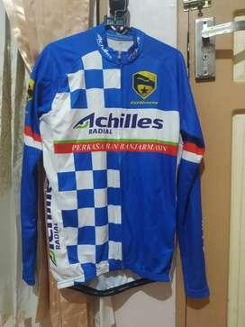 Jual Jersey baju sepeda Roadbike/MTB/Seli full zip murah