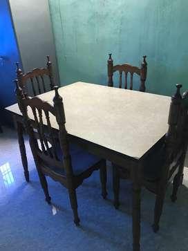 4 - seater Teak Wood Dining Table