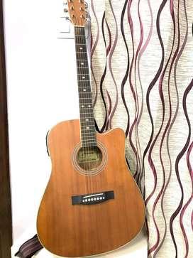 Hertz Semi-Electric Guitar || HZA9000NS