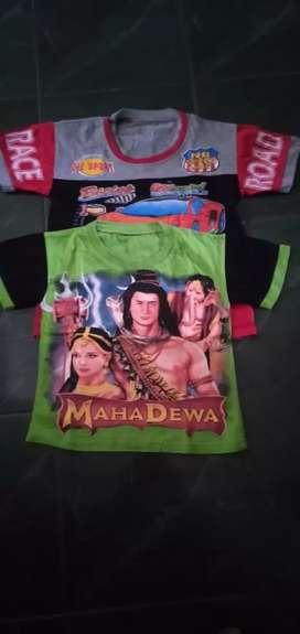 Kaos oblong anak