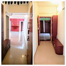3Bhk semi furnishe flat for sale at a reasonable price