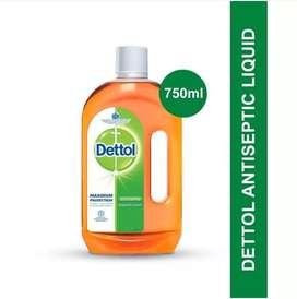 PROMO!!  DETTOL ANTISEPTIK LIQUID 750 ml [READY STOK MEDAN]