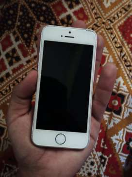Iphone 5s Silver ( 16 GB )