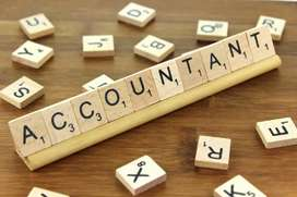 Freshers required for Accountant job