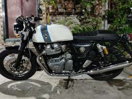 Continental gt650 Aug-2019 model, less than 6 months old, single owner