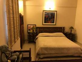 DHA Sea View Apartment Ground Furnished One Bed Lounge Kitchen Parking