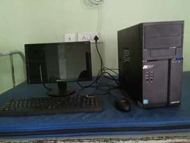 Acer C.P.U and computer