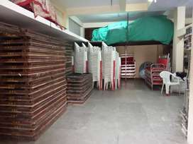 Furnished Office with Big Godown For Sale
