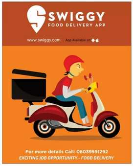 Swiggy recruiting delivery partners @ Chennai